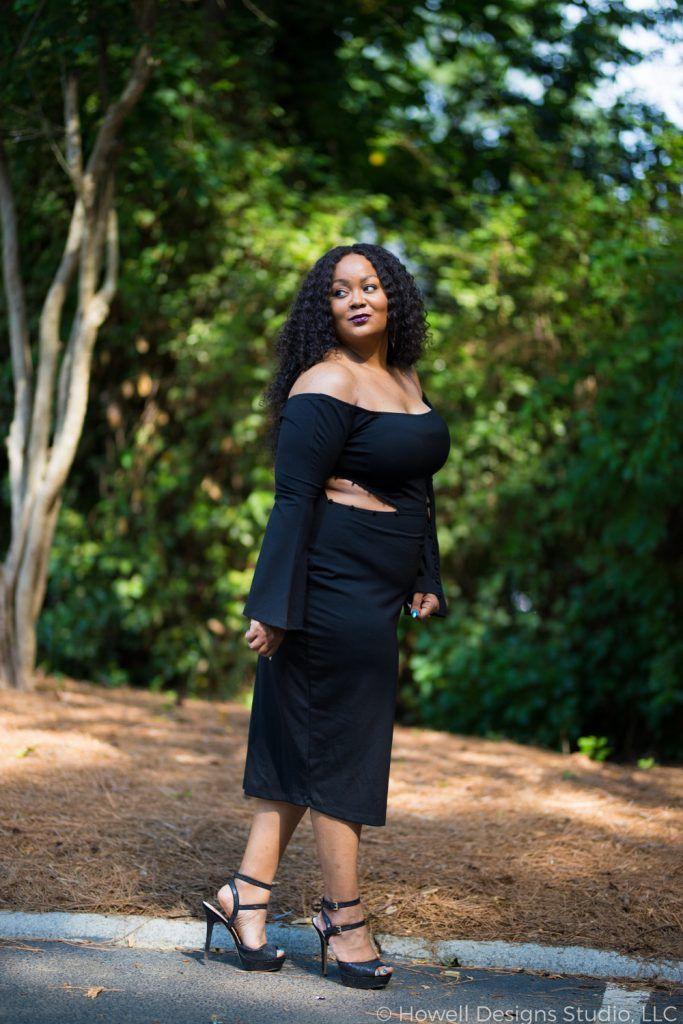 Little black dress, Black Long Gown