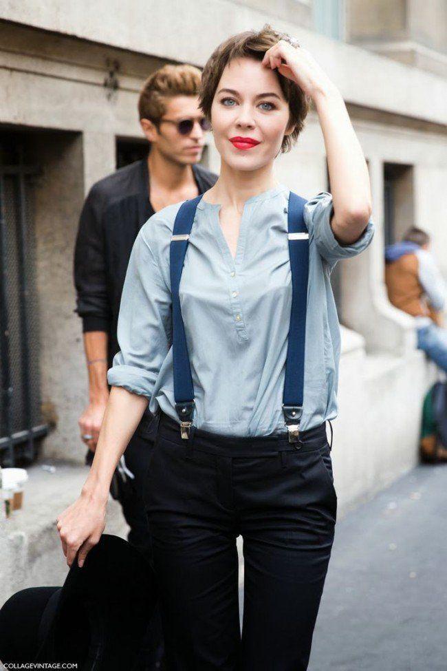 Collections of women in suspenders