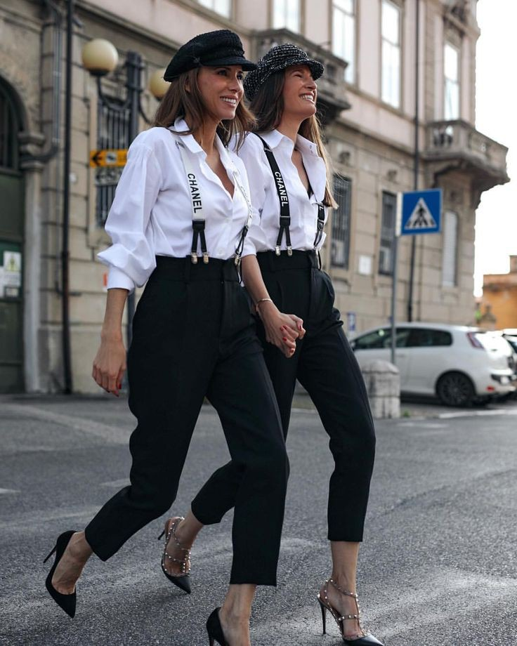 Just have a look chanel suspenders women