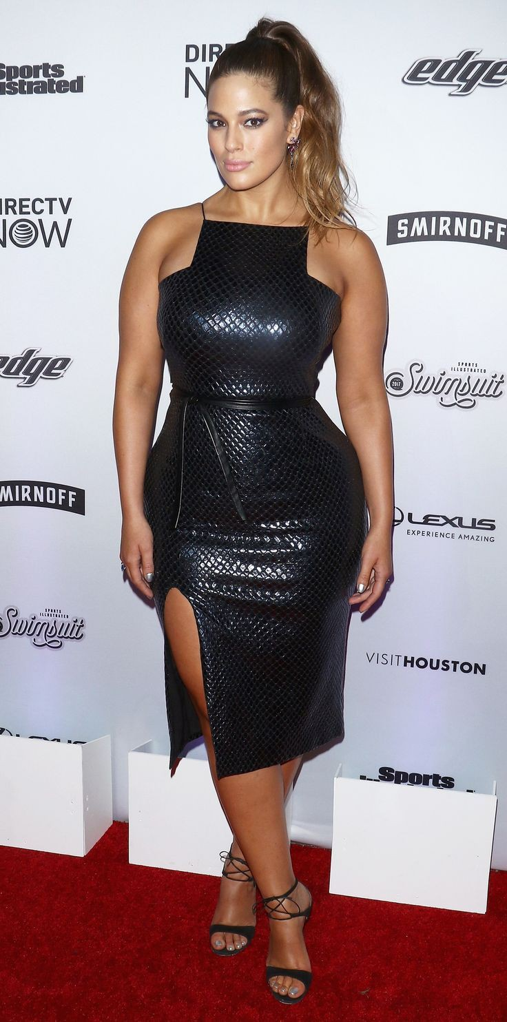Fantastic kleid ashley graham, Ashley Graham