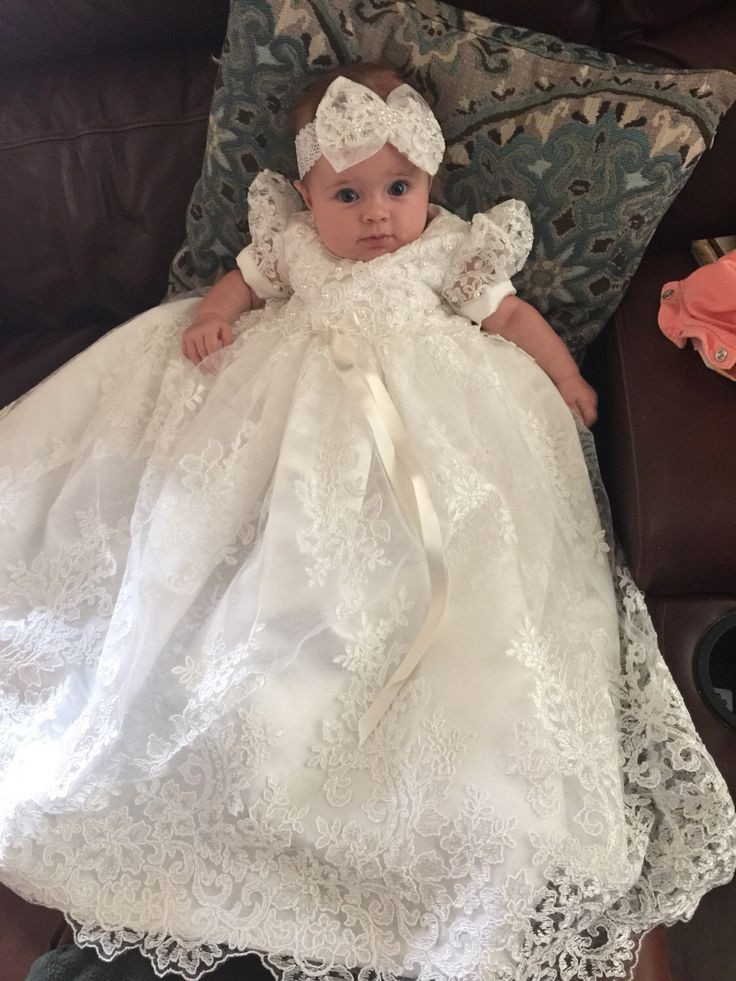 Rocker-style christening gowns, Baptismal clothing