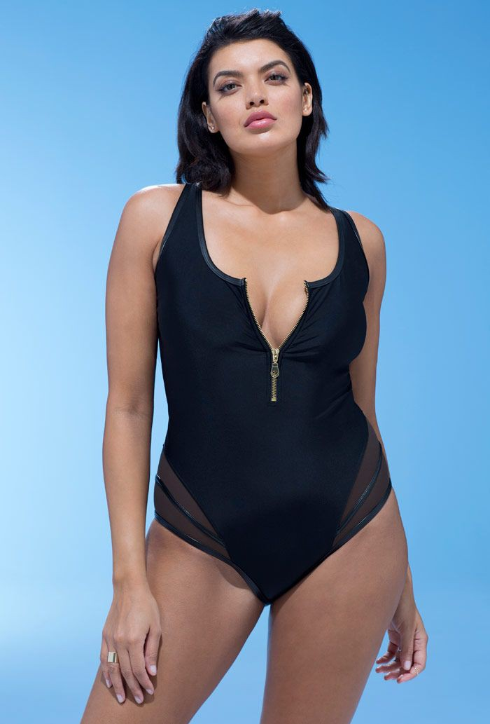 Find more about these One-piece swimsuit, Plus Size Swimwear