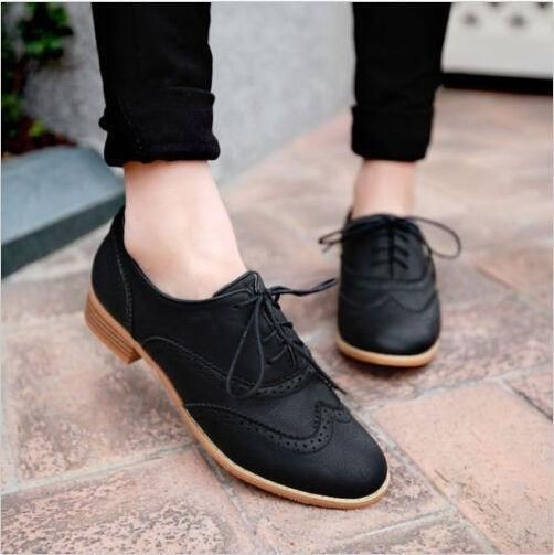 Fancy outfit ideas for brogues women, Brogue shoe