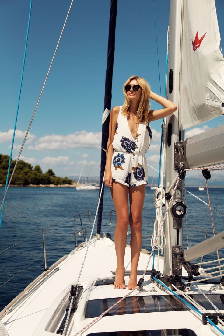Daily fashion fashion boat, Romper suit
