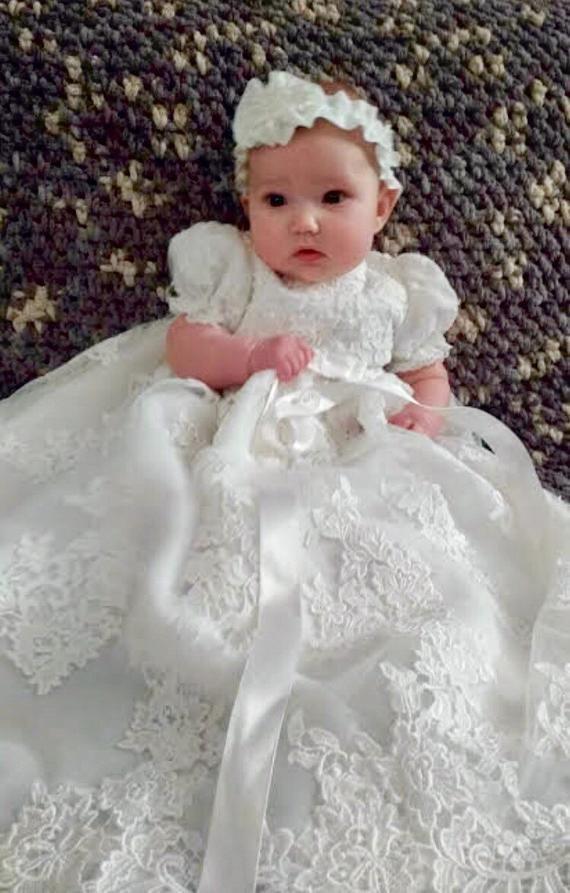 Dress For Baptism, Wedding dress, Flower girl
