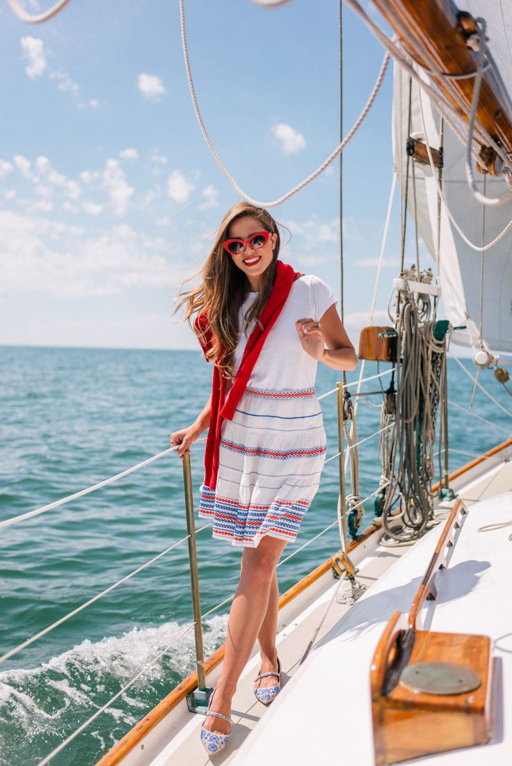 Boating Outfits, French Riviera, Summer vacation