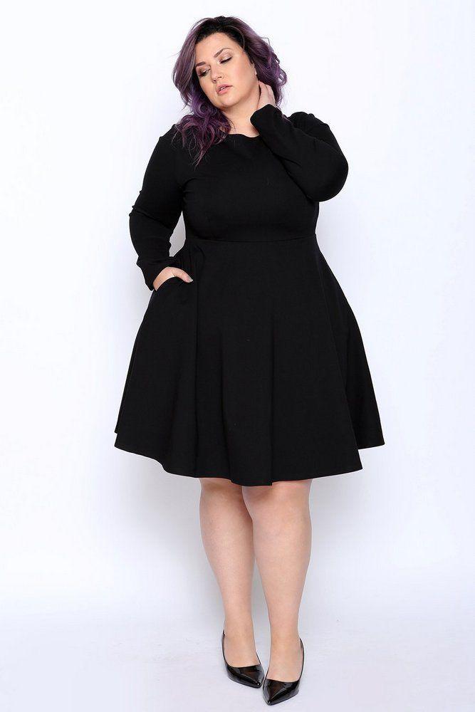 Absolutely fine plus size lbd, Little black dress