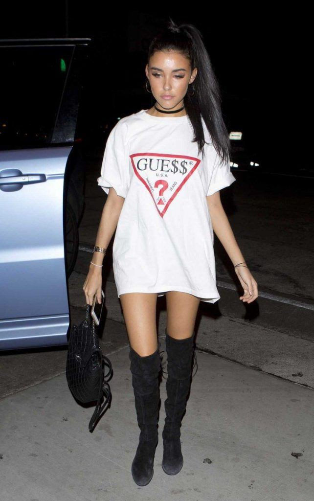 Madison beer knee high boots