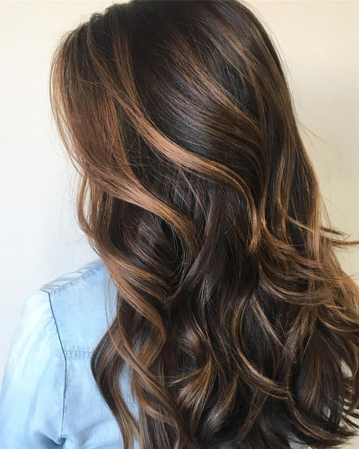 Fashion models balayage brown