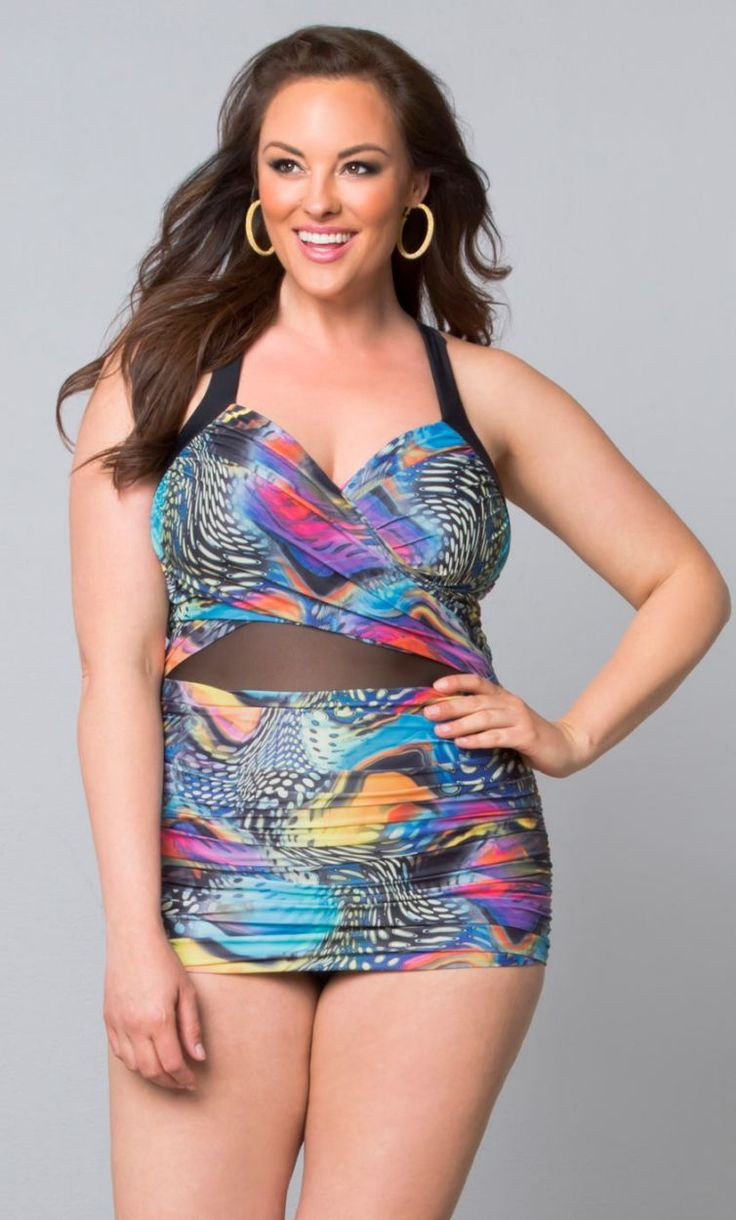 Best & latest ideas for fashion model, Plus Size Swimwear