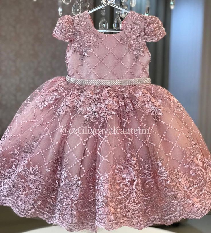 Dress For Baptism, Wedding dress, Party dress