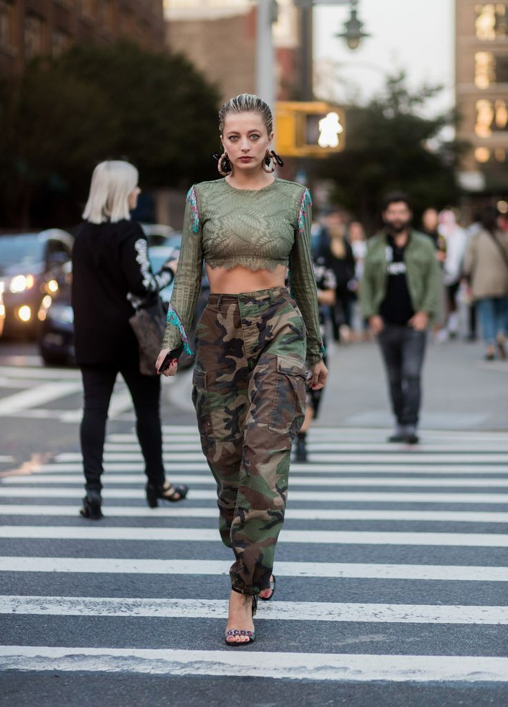 Check these adorable military looks, Military camouflage