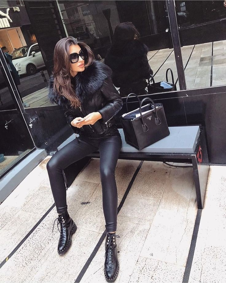 Black Leggings Outfit, Casual wear