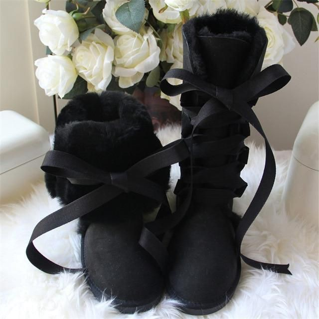 Snow boot, High-heeled shoe