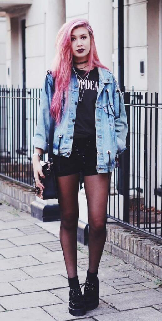 Great and mind boggling grunge looks, Grunge fashion