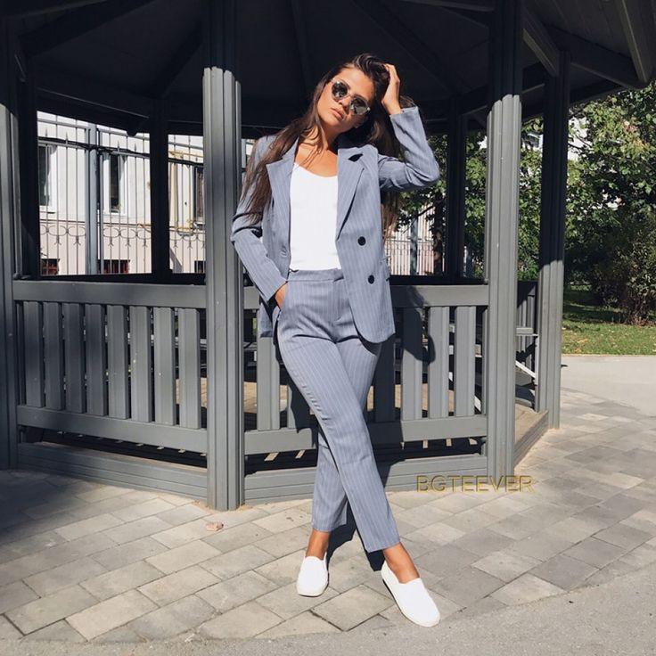 Blazer and trouser set, Casual blazer