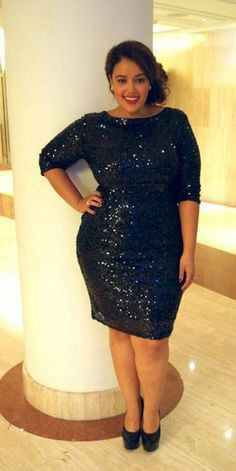 Sequin dress plus size, Cocktail dress