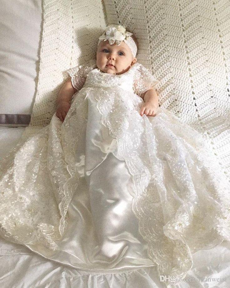 USA most desirable white christening dress, Baptismal clothing