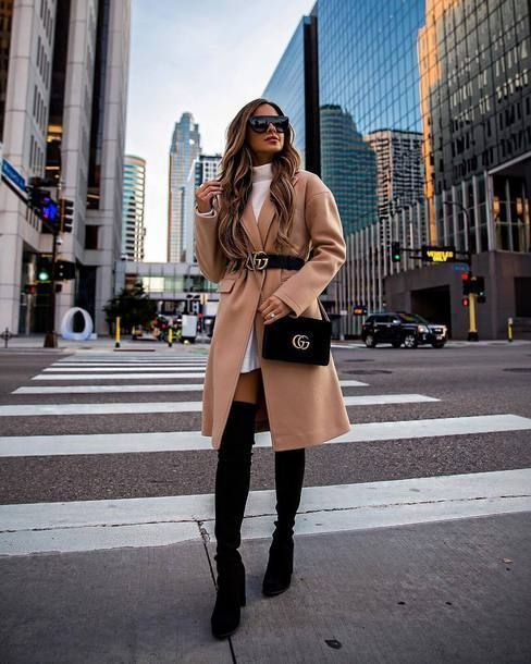 50 Degree Weather Outfit, Polo neck, Fashion blog