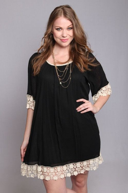 Plus size tunic outfits, Plus-size clothing