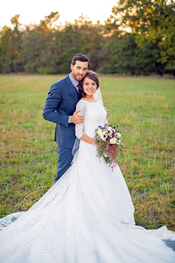 Jessa duggar wedding dress, Jessa Seewald