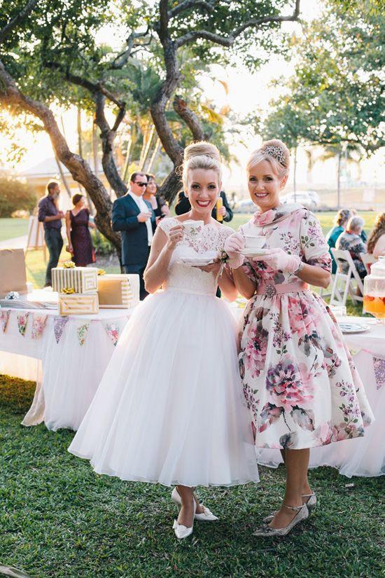 Vintage tea party dress, Wedding dress