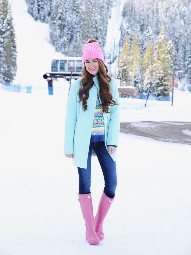 Easy to put together outfit. tahoe outfits, Hunter Boot Ltd