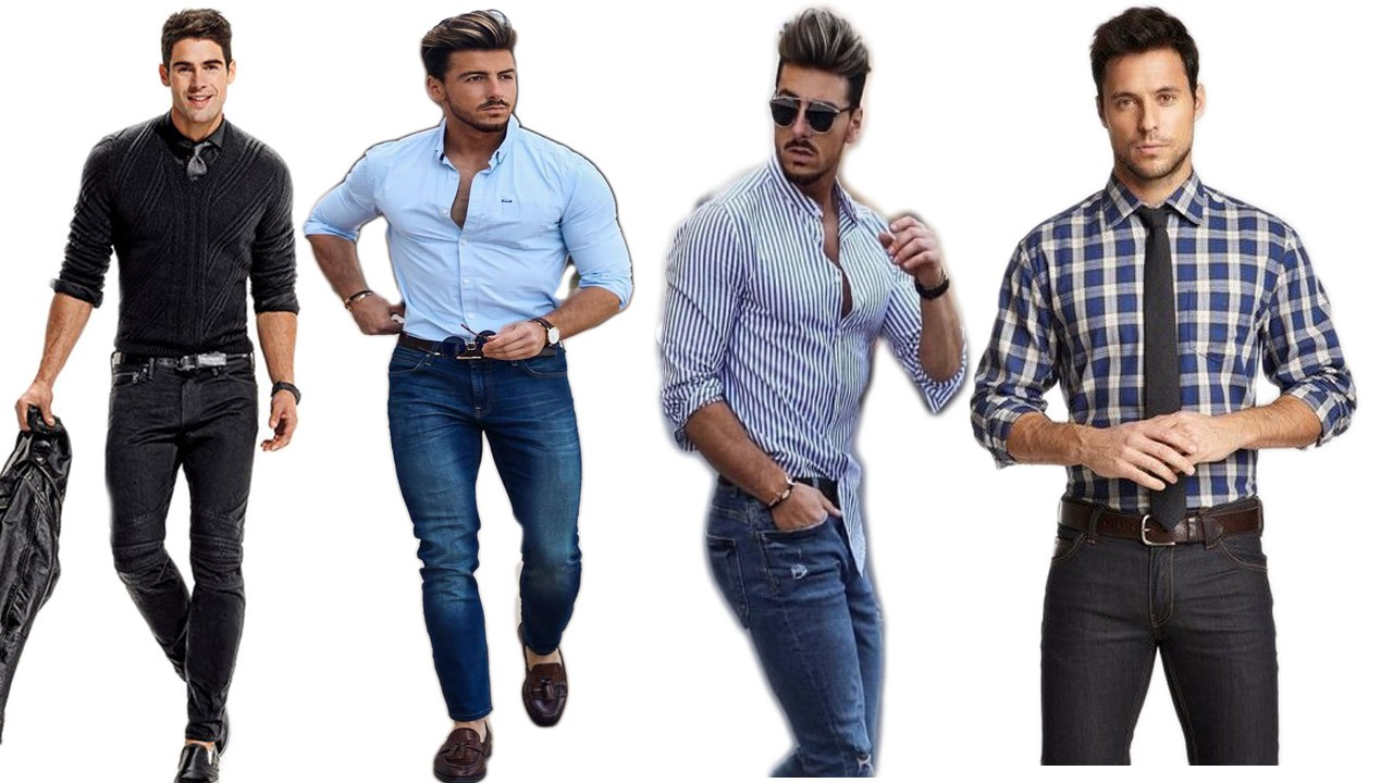 How to Wear Dress Shirt With Jeans