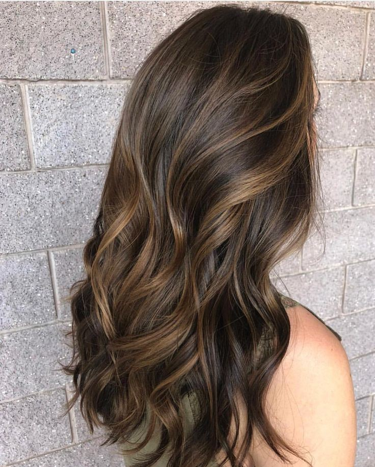 Pleasing highlight ideas Brown hair