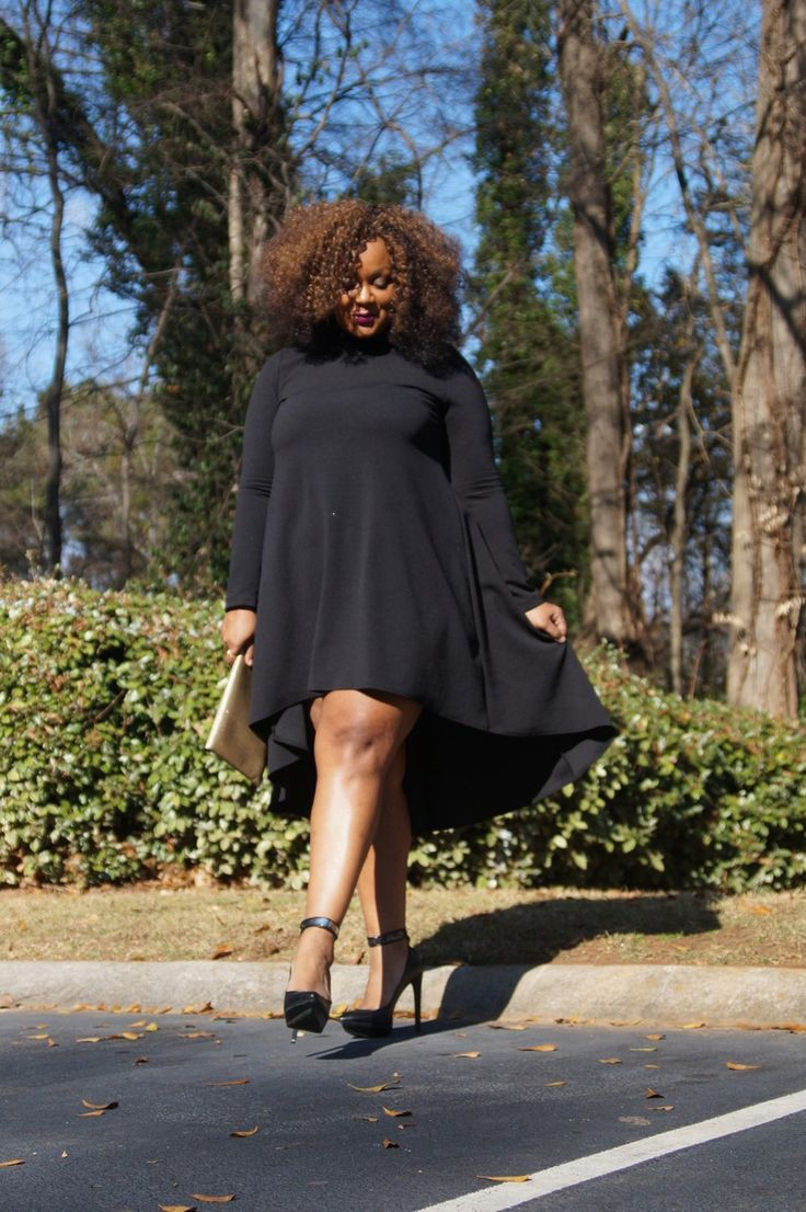 You should not miss these little black dress, Plus-size clothing