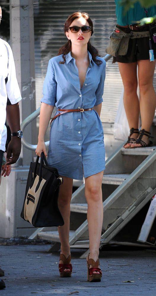 Casual gossip girl outfits, Blair Waldorf