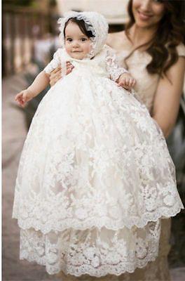 Baby girl baptism dress, Baptismal clothing