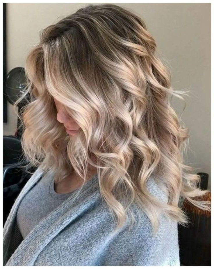 Find these long wavy hairstyles 2019, Human hair color