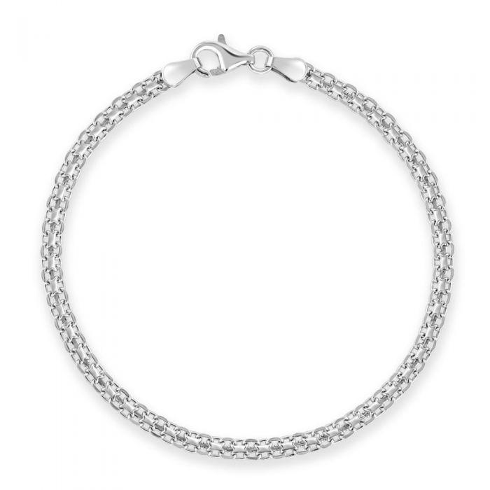 Sterling Silver 3mm Bismark Bracelet £13.00