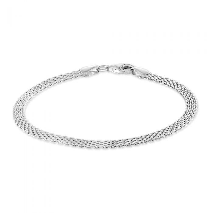 Sterling Silver 3.9mm Mesh Bracelet £27.00