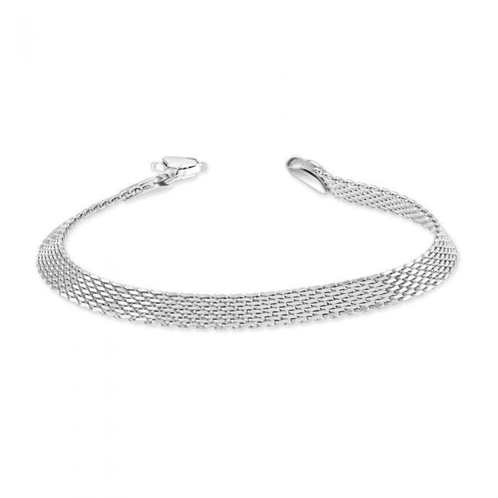 Sterling Silver 5mm Mesh Bracelet £32.00