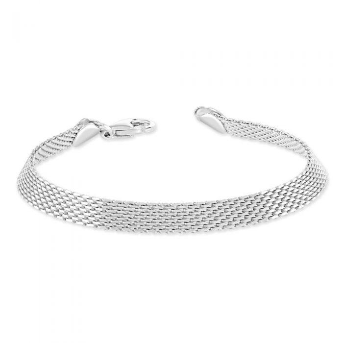 Sterling Silver 6mm Mesh Bracelet £34.00