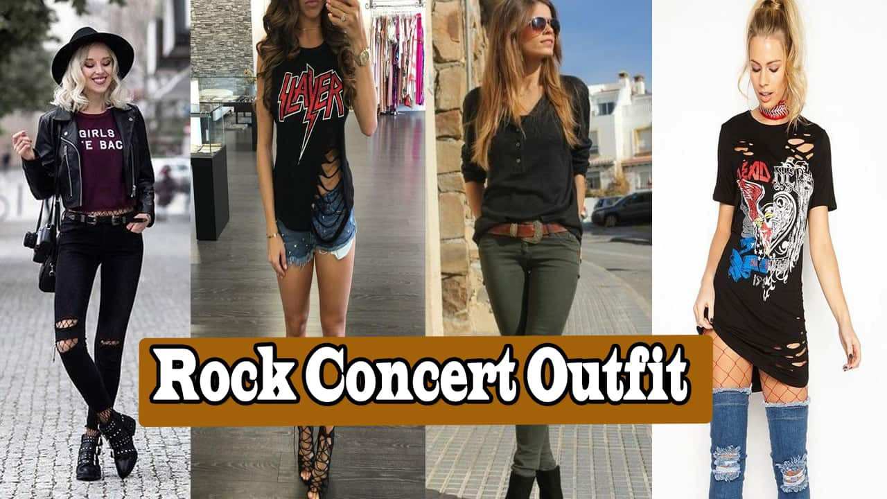 What To Wear To A Rock Concert -13 Ideas For All Season