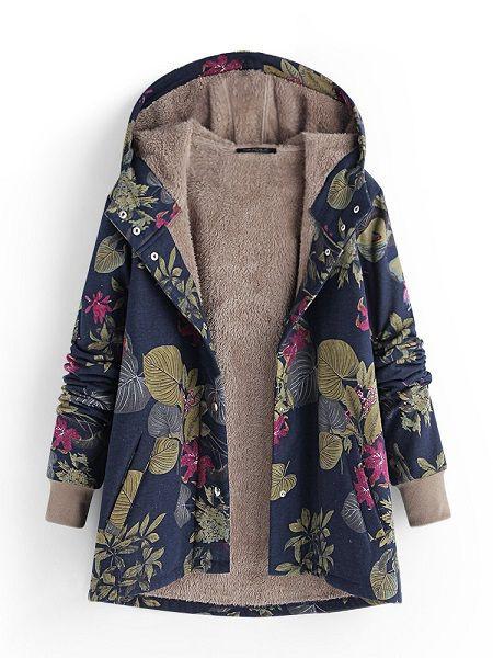 Hooded Coats For Ladies, Fleece jacket, Polar fleece