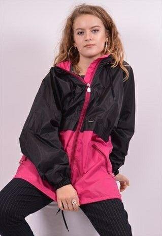 Windbreaker Outfits, Leather Look Jacket