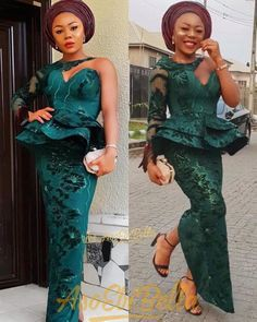 How about these aso ebi styles, African wax prints