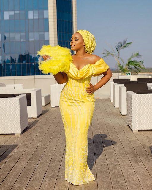 Black girl tips for Aso ebi, Evening gown