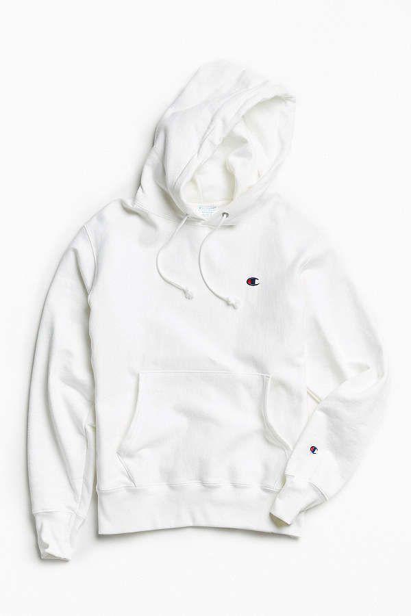 Champion hoodie reverse weave white