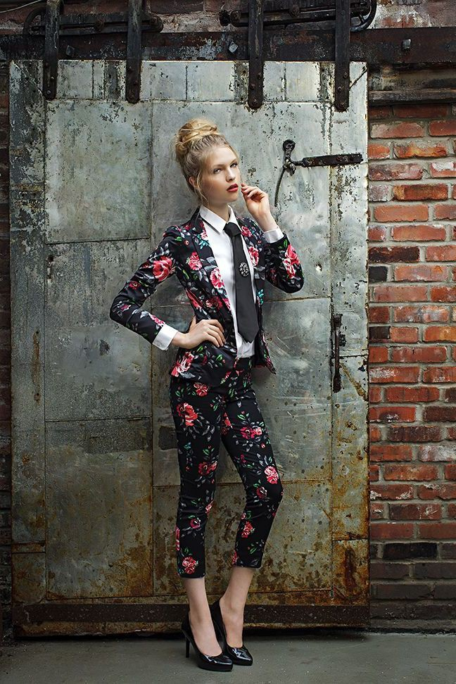 Floral Outfits For Girls, Floral design