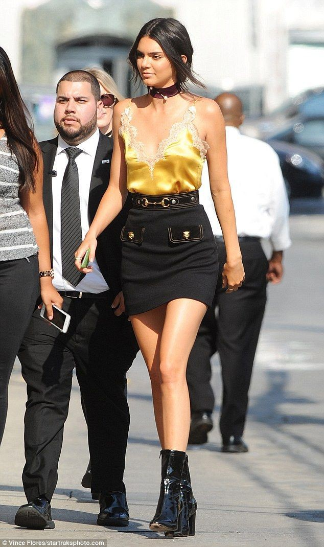 Kendall jenner jimmy kimmel outfit