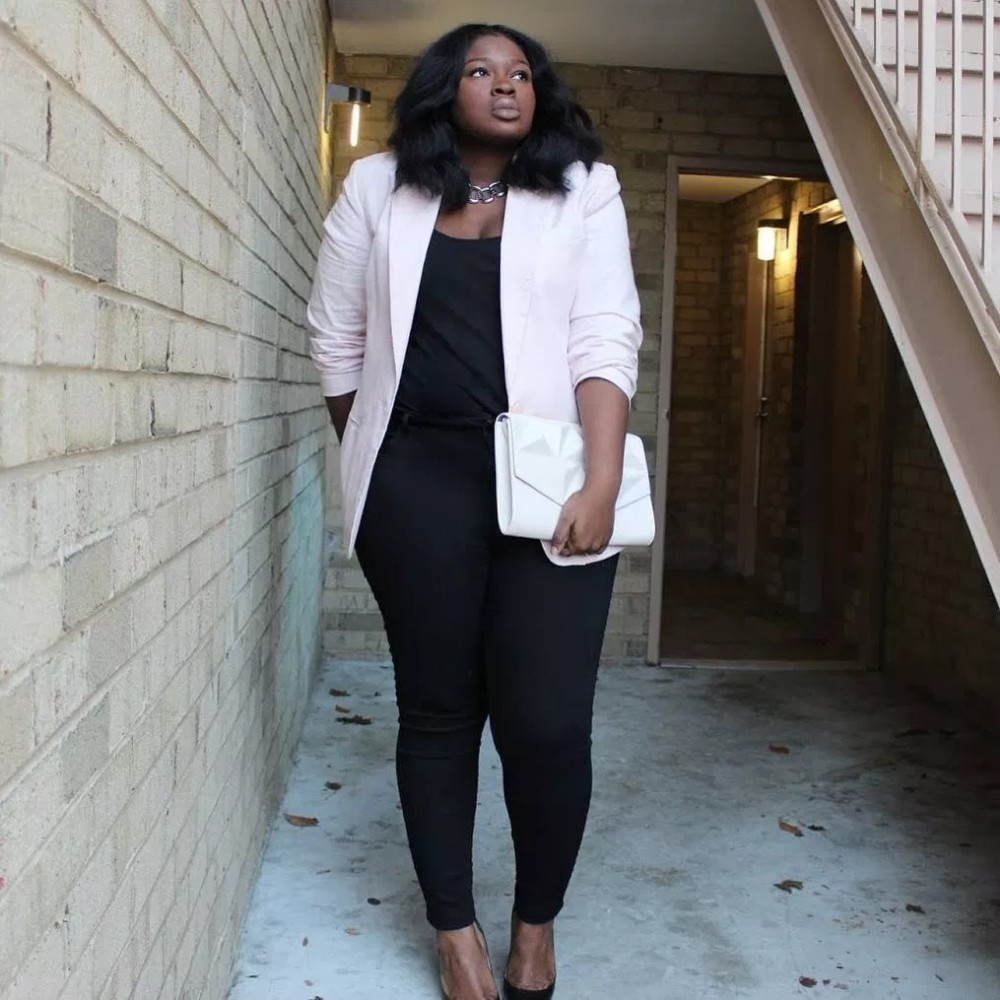 Plus size work outfit ideas