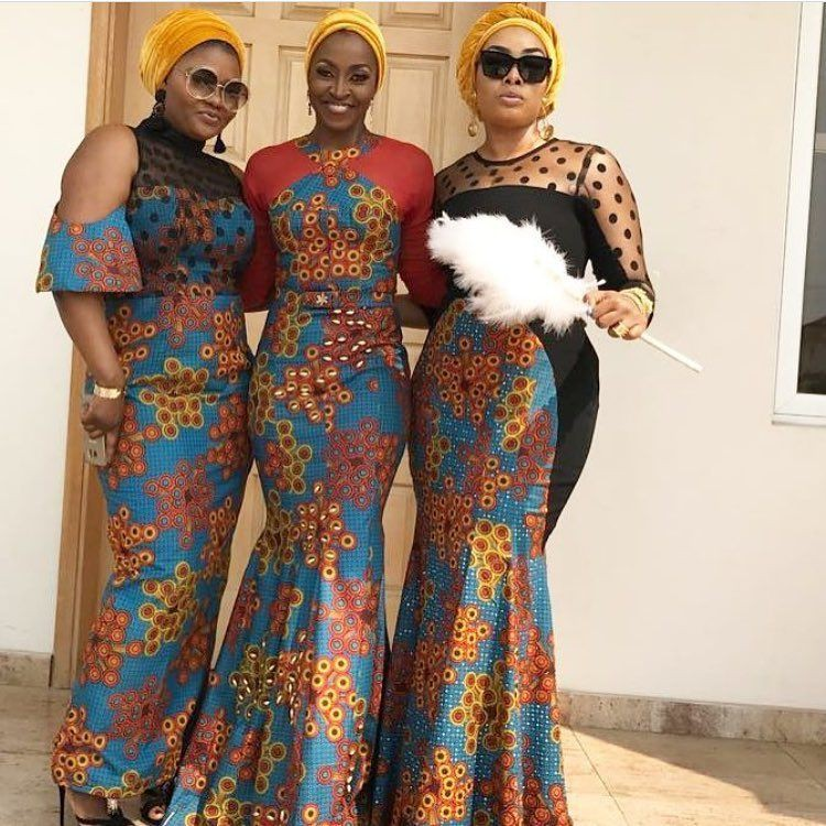 Nigerian ankara fashion style, Aso ebi