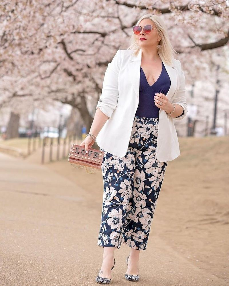 Spring 2019 fashion plus size, Plus-size clothing