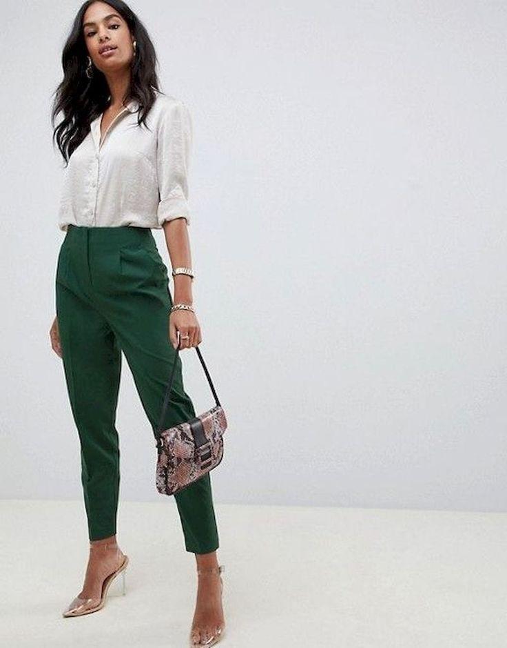 Design of cute business woman look, Casual wear