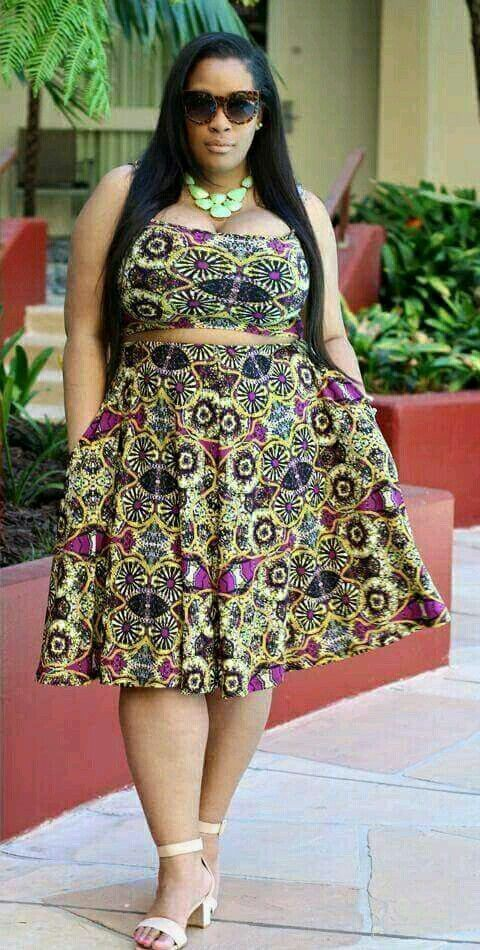 Plus size modern african dresses